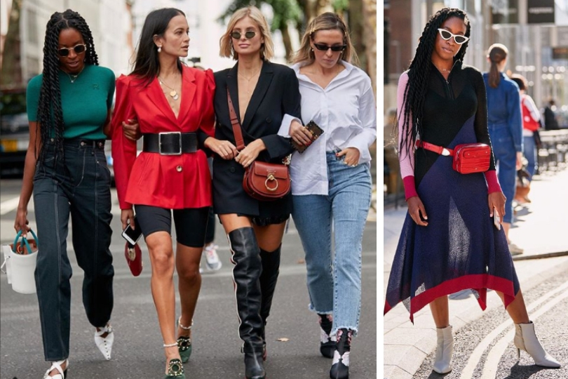 street style London fashion week PE 2019