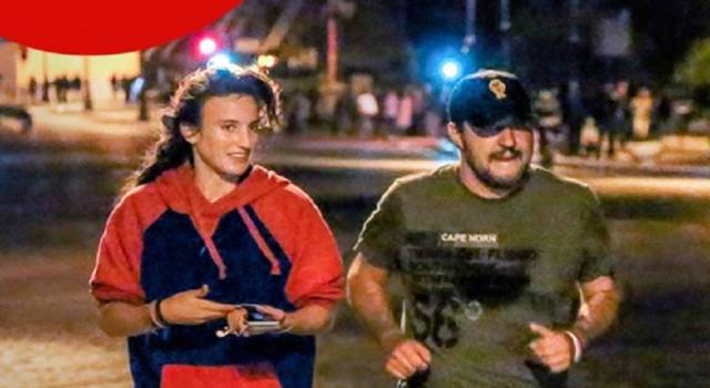 Matteo Salvini: jogging notturno all'ombra del Colosseo!