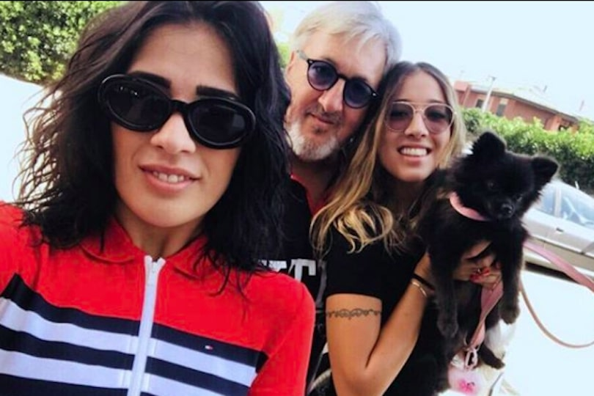 Maurizio Sorge con le figlie