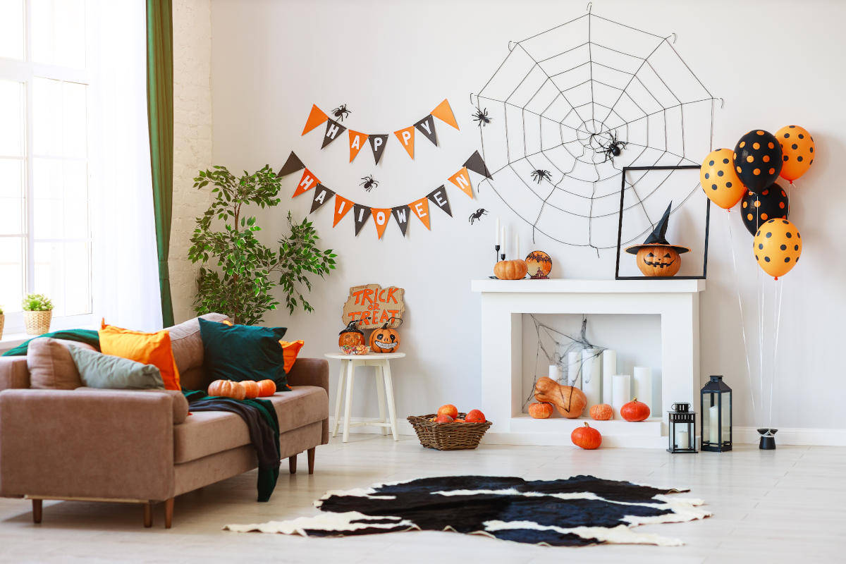 Casa decorata per Halloween