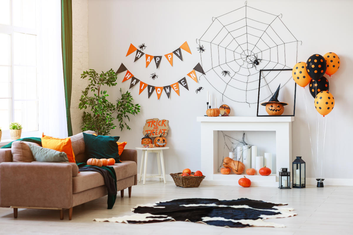Casa decorata per Halloween