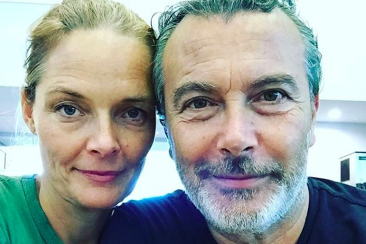 Paolo Sassanelli e Marit Nissen