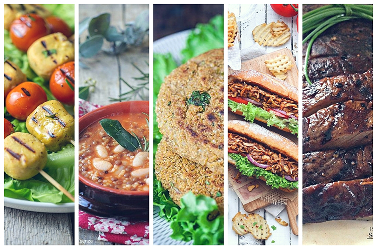 Dieta vegana: le alternative alla carne gustose e nutrienti
