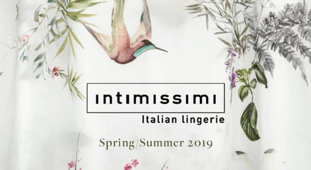 Intimissimi: l'intimo dal fascino bucolico nella collezione primavera estate 2019