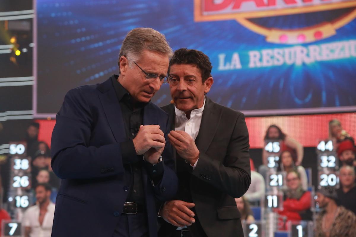 Luca Laurenti con Paolo Bonolis