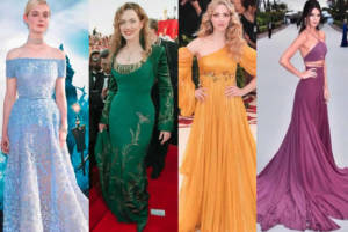 Abiti delle Principesse Disney celebrity