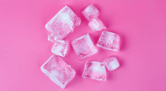 Quanto tempo usare ghiaccio per fissare trucco