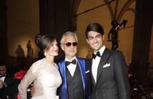 Veronica Berti Andrea Bocelli e Matteo Bocelli