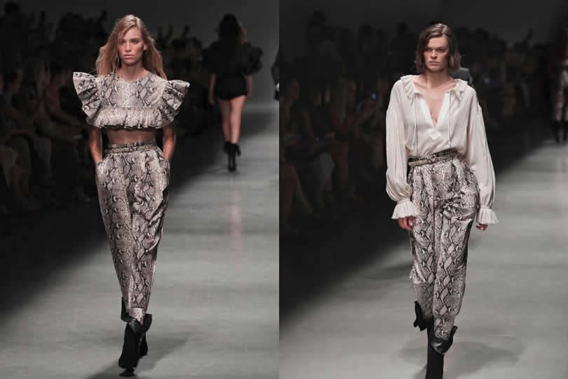 Moda animalier primavera estate 2019, il pitonato by Philosophy