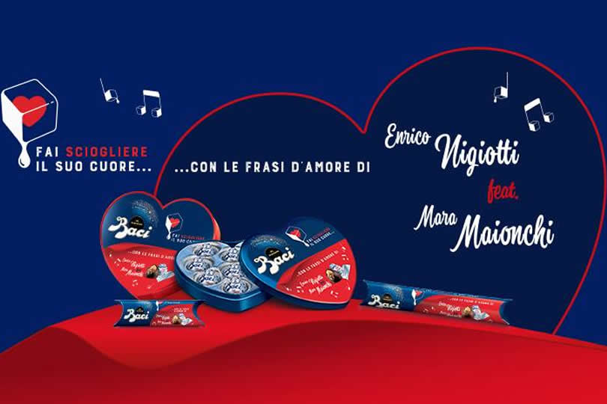Baci Perugina per San Valentino 2019