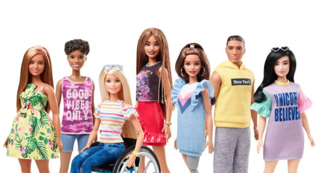Barbie disabile di Mattel