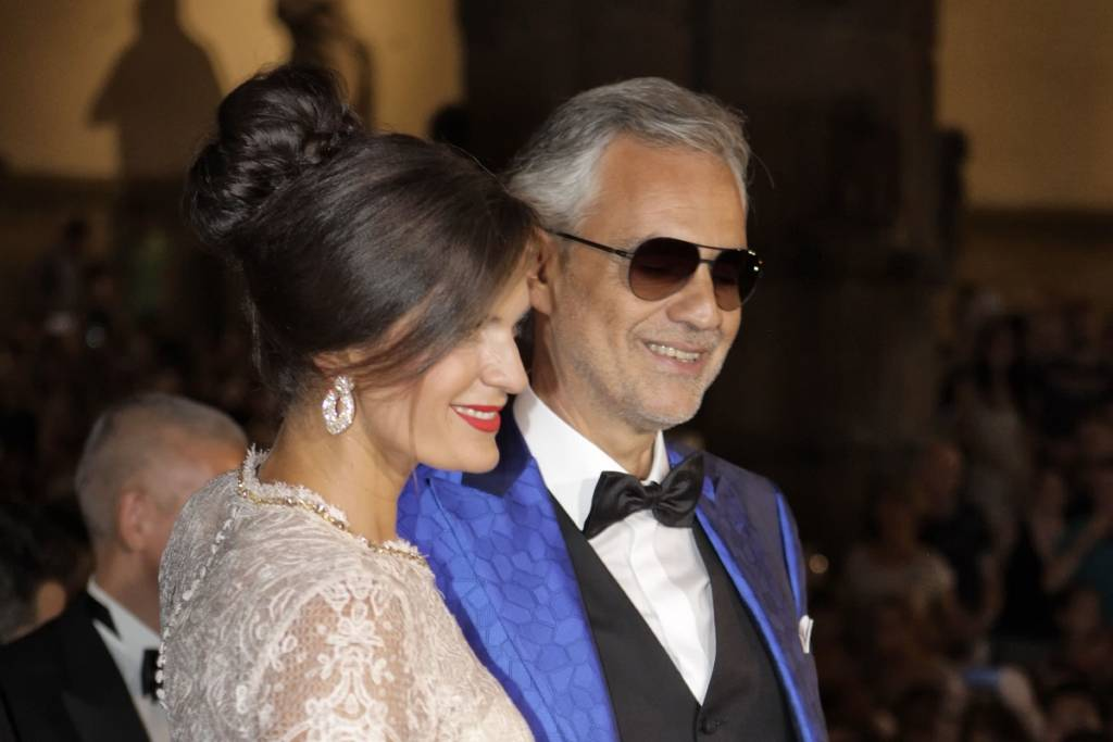 Veronica Berti e Andrea Bocelli