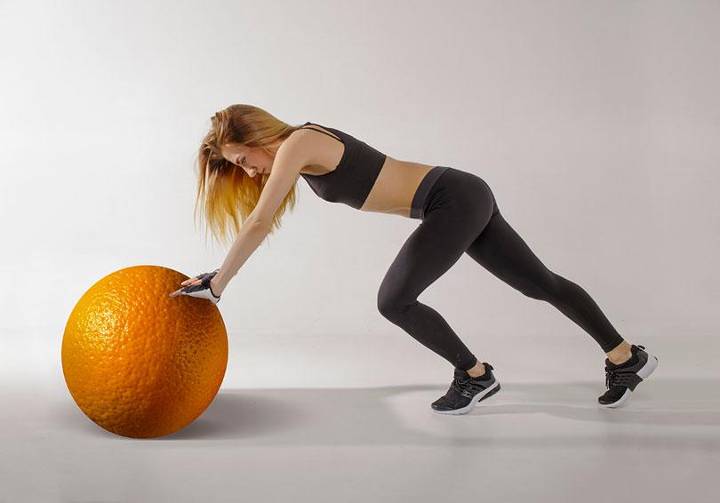 esercizi contro la cellulite