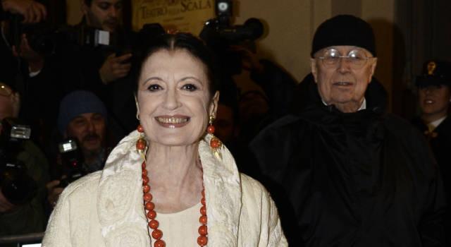 Paura per Carla Fracci: le sue condizioni sarebbero gravi