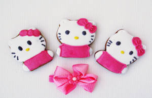 Biscotti a forma di Hello Kitty