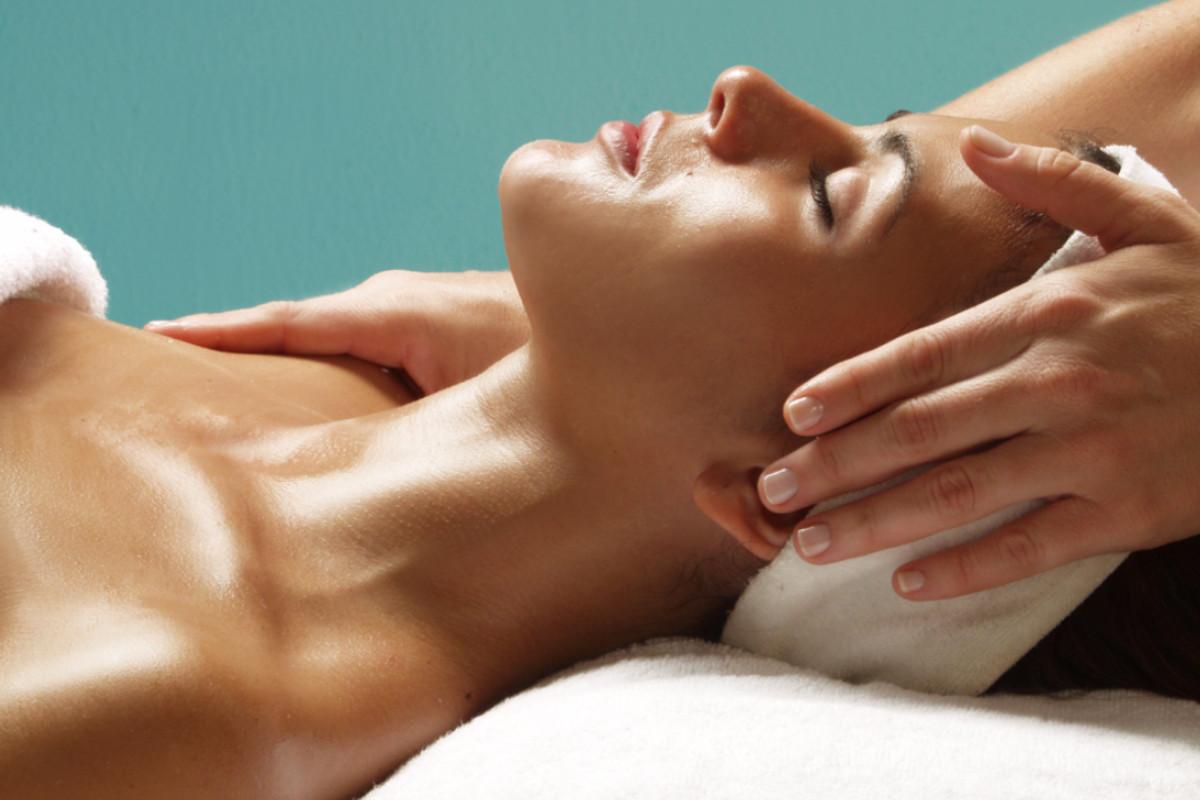 Massaggio viso