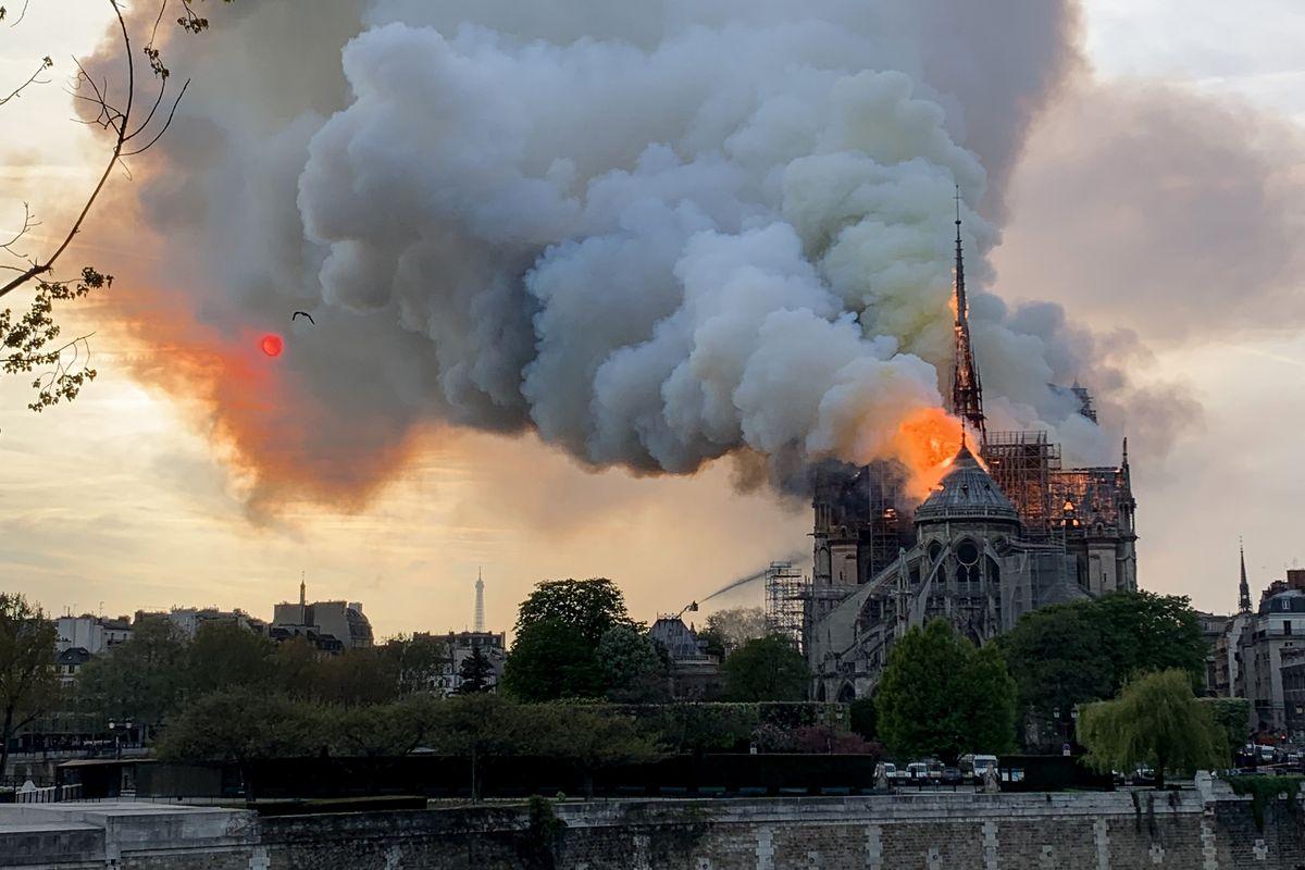 Incendio Notre Dame de Paris