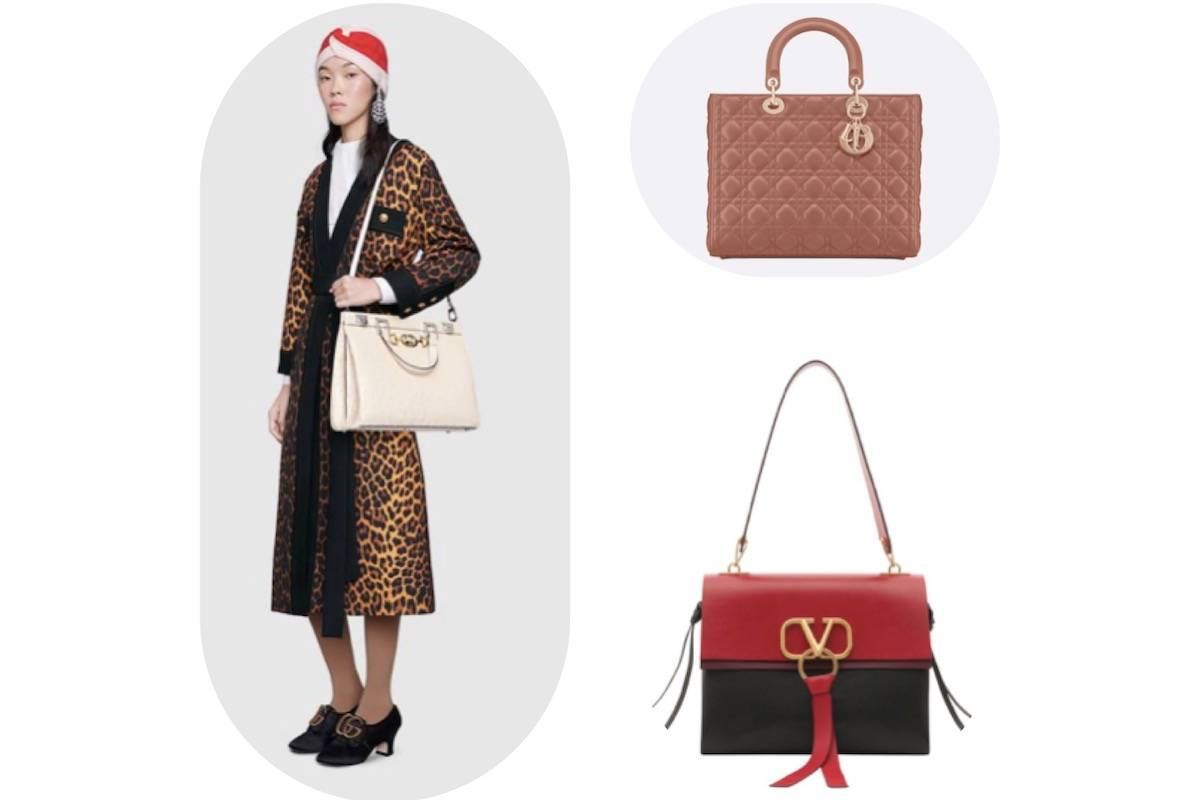It-bag borsa Gucci, Dior e Valentino