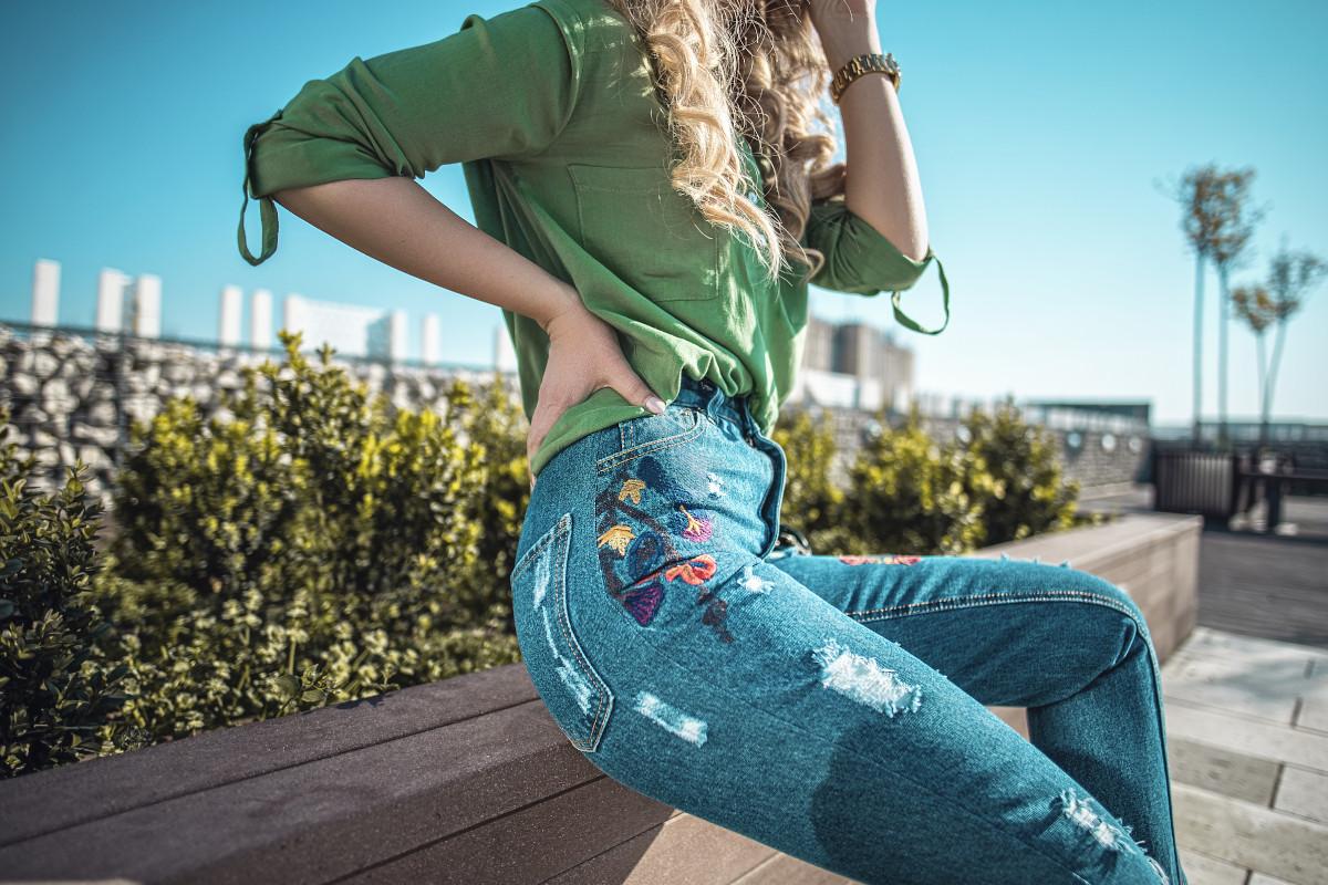 Jeans decorati