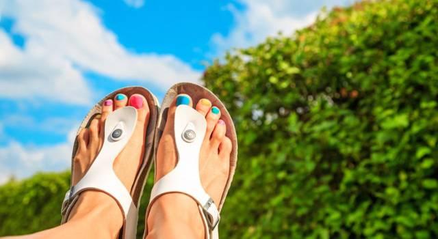 I sandali che indosseremo quest'estate