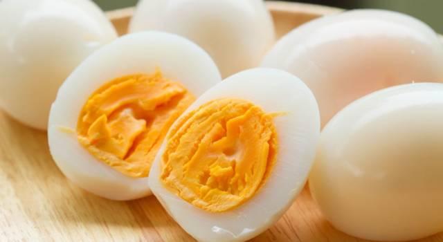 Quanto bollire uovo sodo