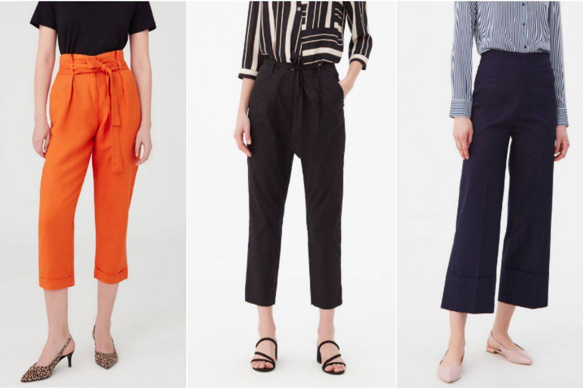 Pantaloni a vita alta OVS