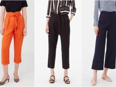 Vi sveliamo quali pantaloni a vita alta non potete non avere…