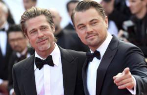 Brad Pitt e Leonardo DiCaprio a Cannes 2019
