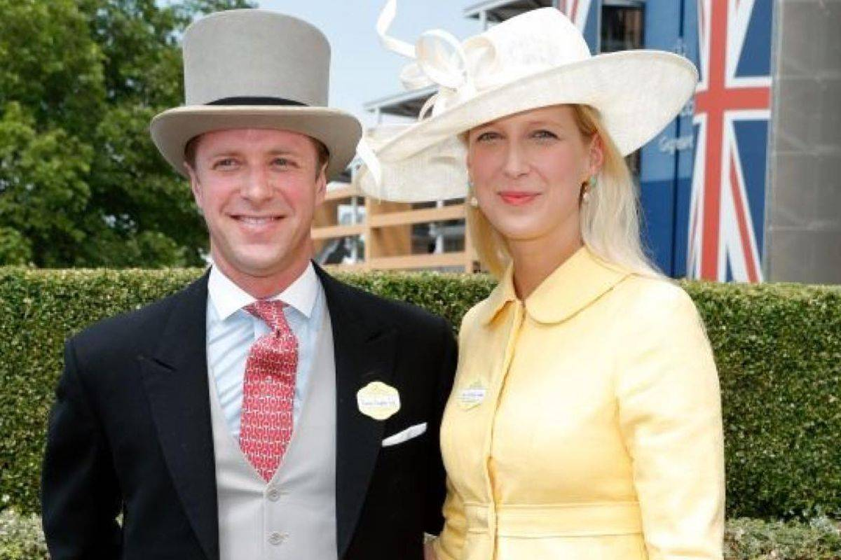 Lady Gabriella Windsor e Thomas Kingston