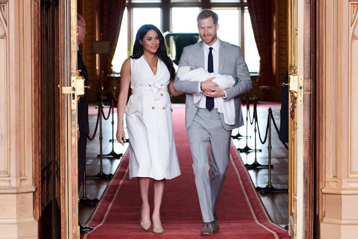 Meghan Markle, Harry e baby Archie