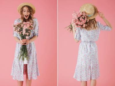 Vestiti a fiori che smagriscono: esistono? Sì!