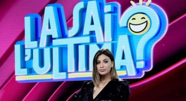 Romina Pierdomenico, fidanzata di Ezio Greggio e conduttrice di La sai l'ultima?