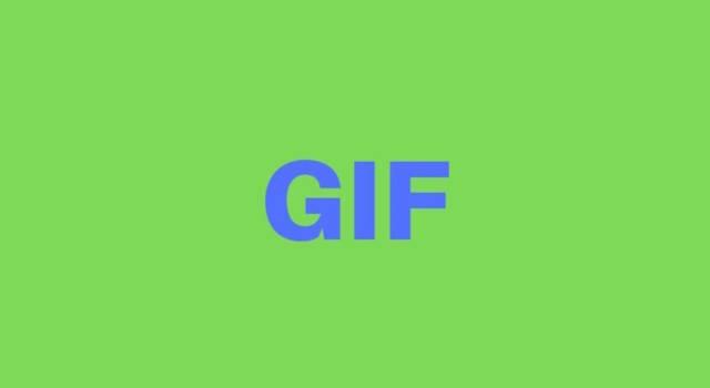 Cosa significa GIF?