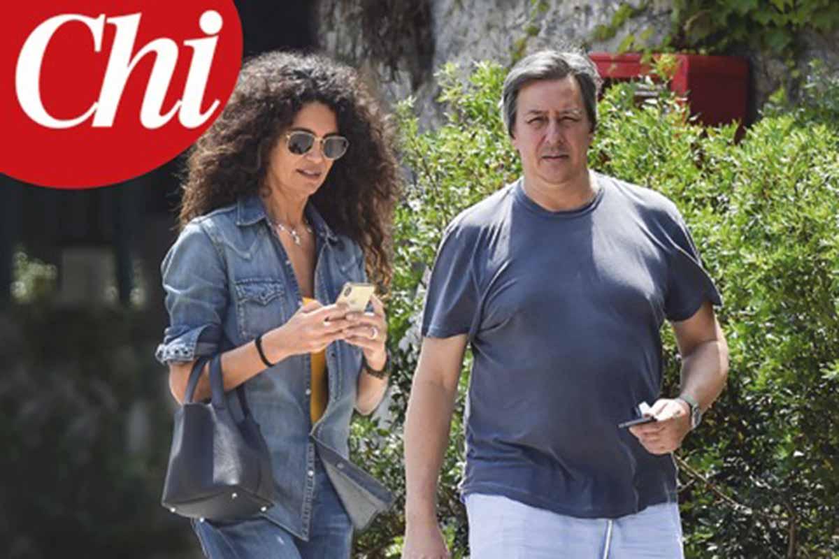 Afef e Alessandro del Bono