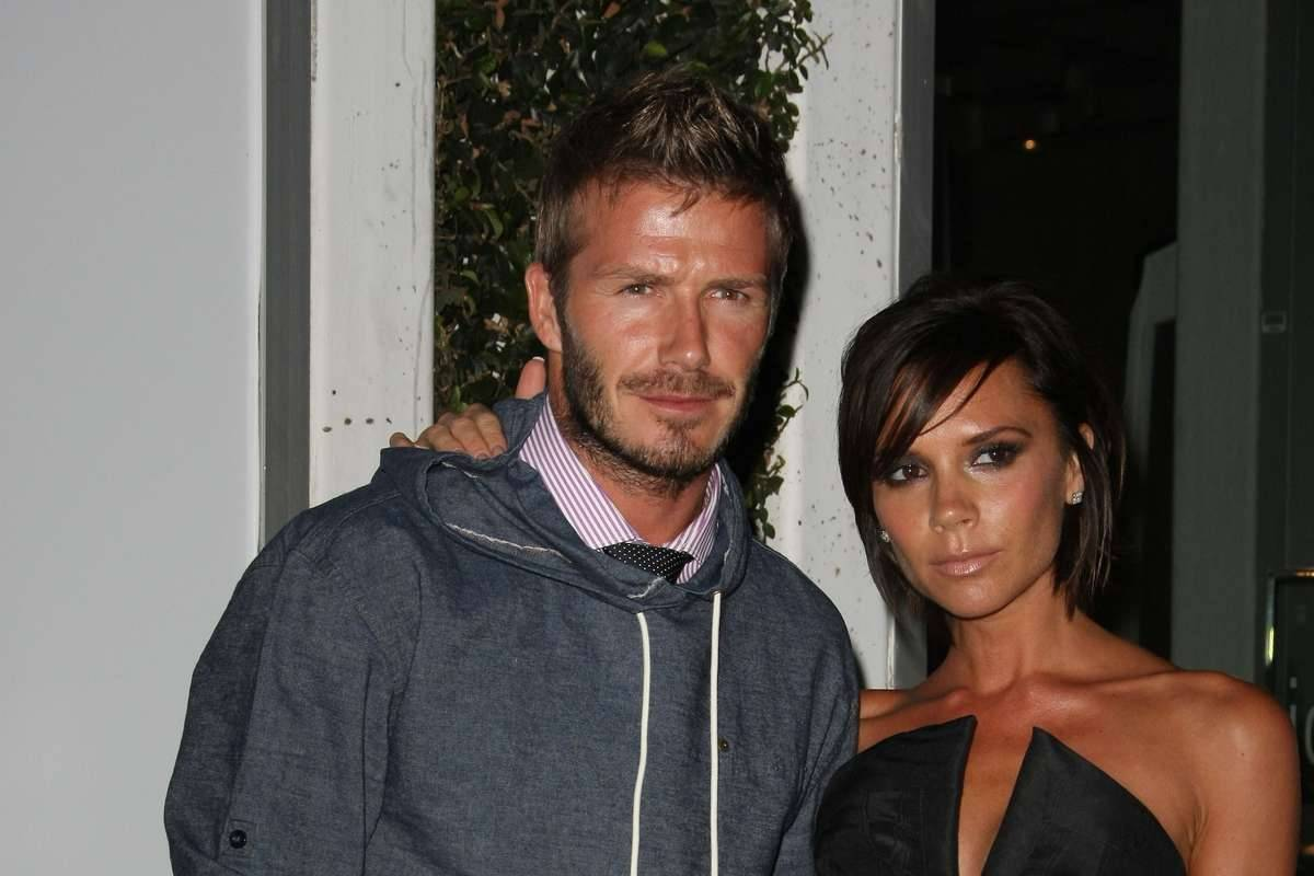 David Beckham e Victoria Adams