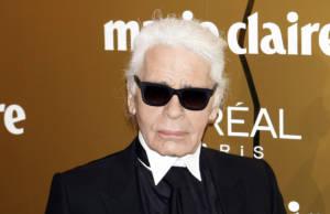 Karl Lagerfeld e L'Oréal paris