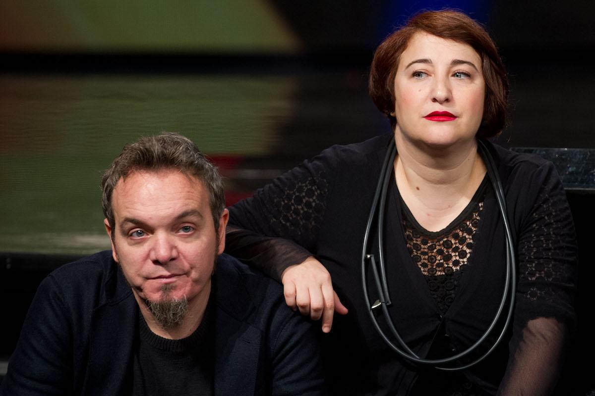 Maria Di Biase e Corrado Nuzzo