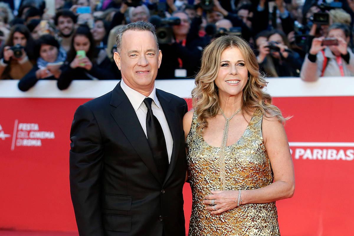 Tom Hanks e Rita Wilson