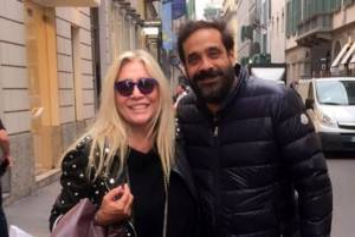 Mara Venier e Paolo Capponi