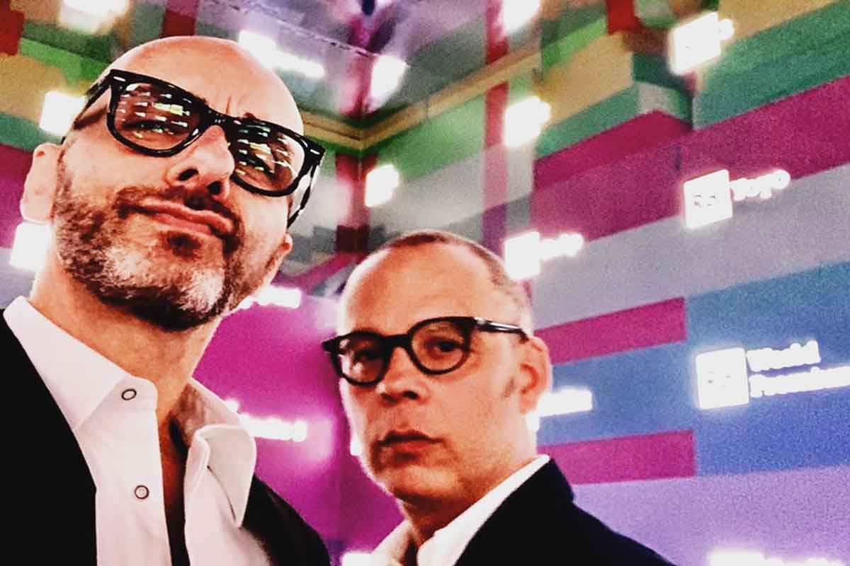 Stefano Ricci e Gianni Forte