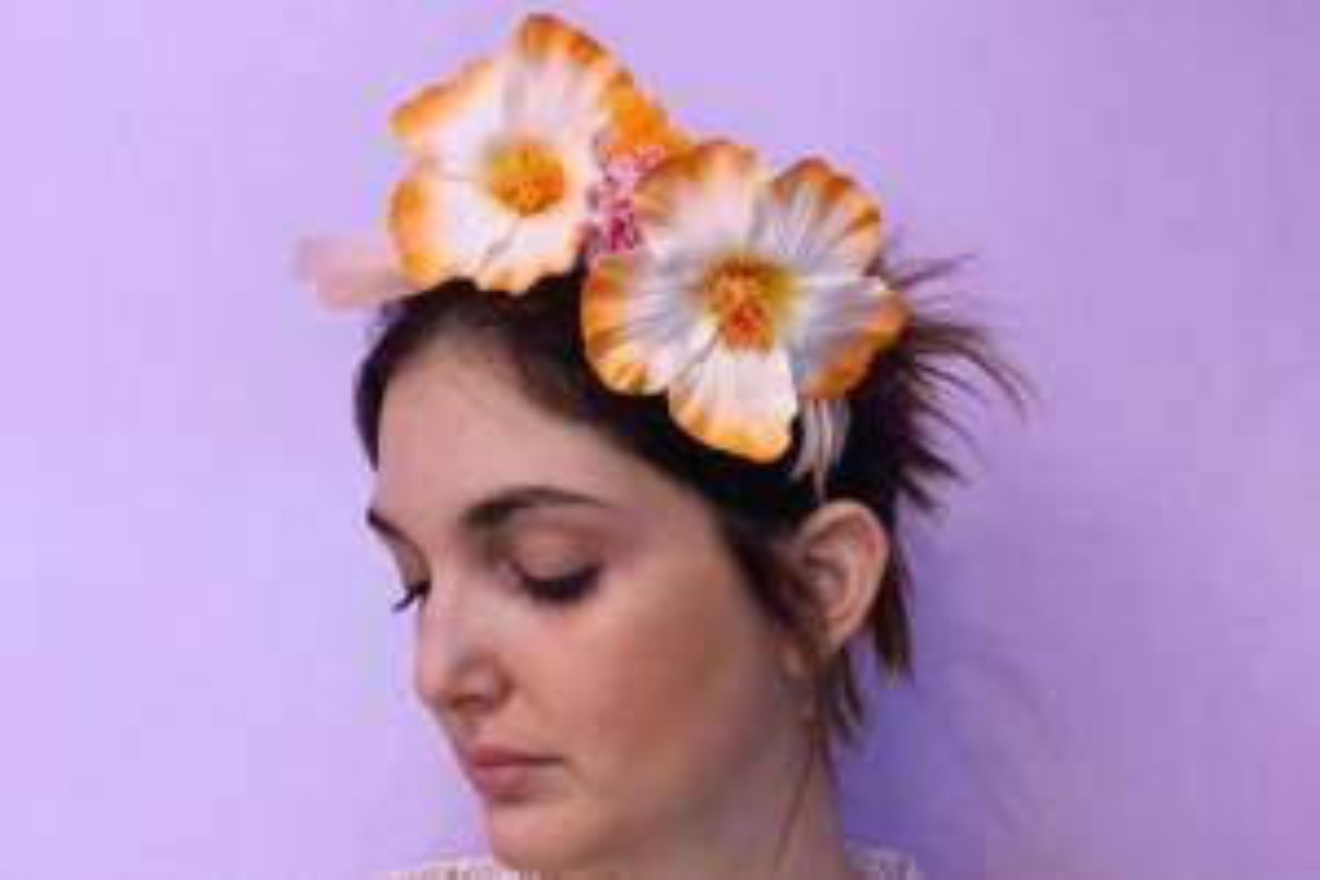Cerchietti di fiori Manupuma