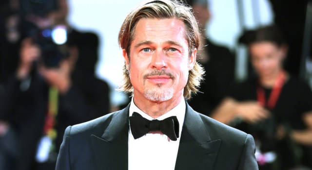 """Brad Pitt commosso: """"Non piangevo da 20 anni"""""""