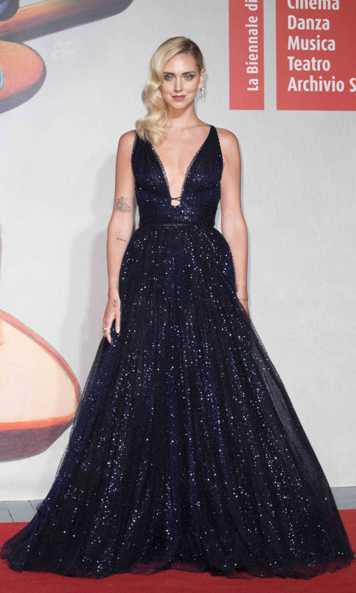 Chiara Ferragni in Dior a Venezia 2019
