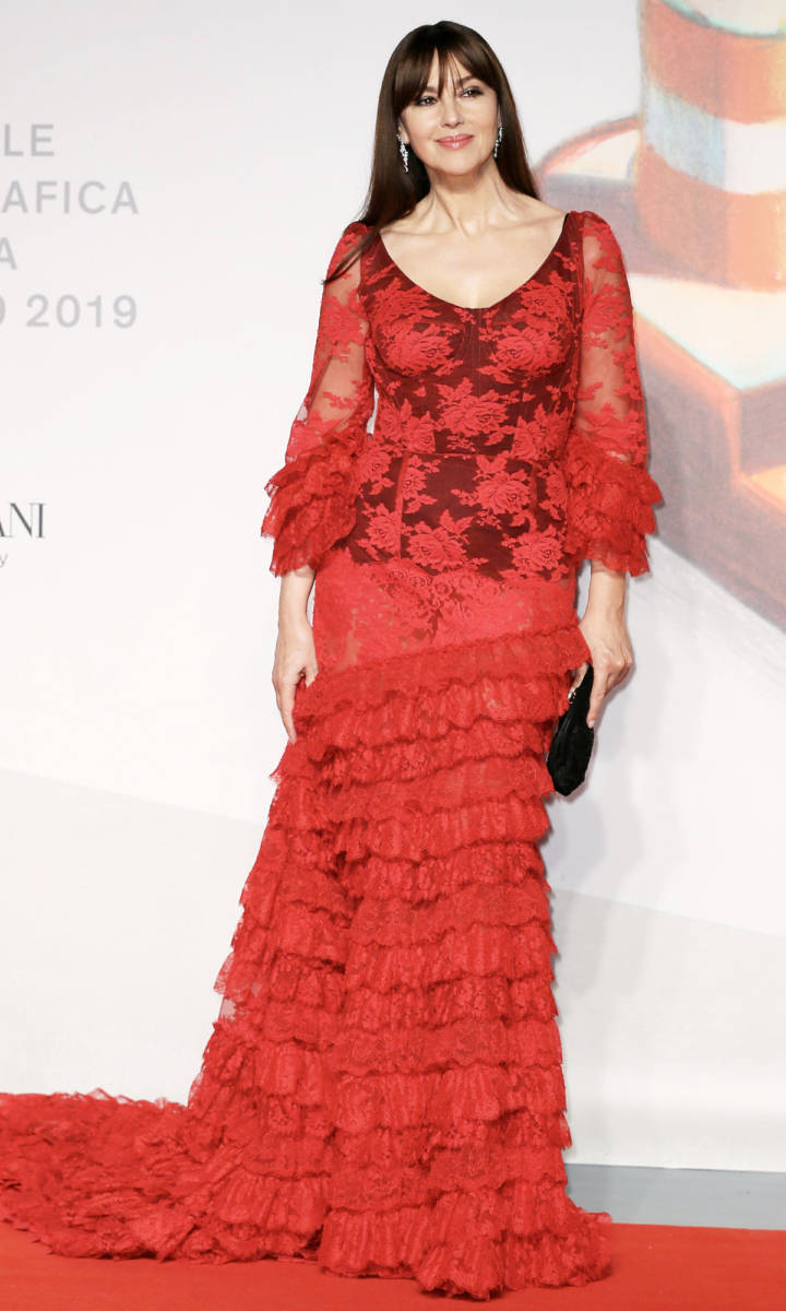 Look di Monica Bellucci a Venezia 2019