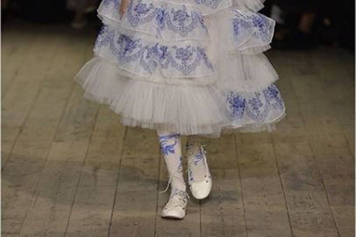 Ballerine di Simone Rocha