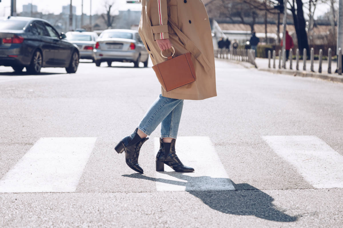 jeans con stivali