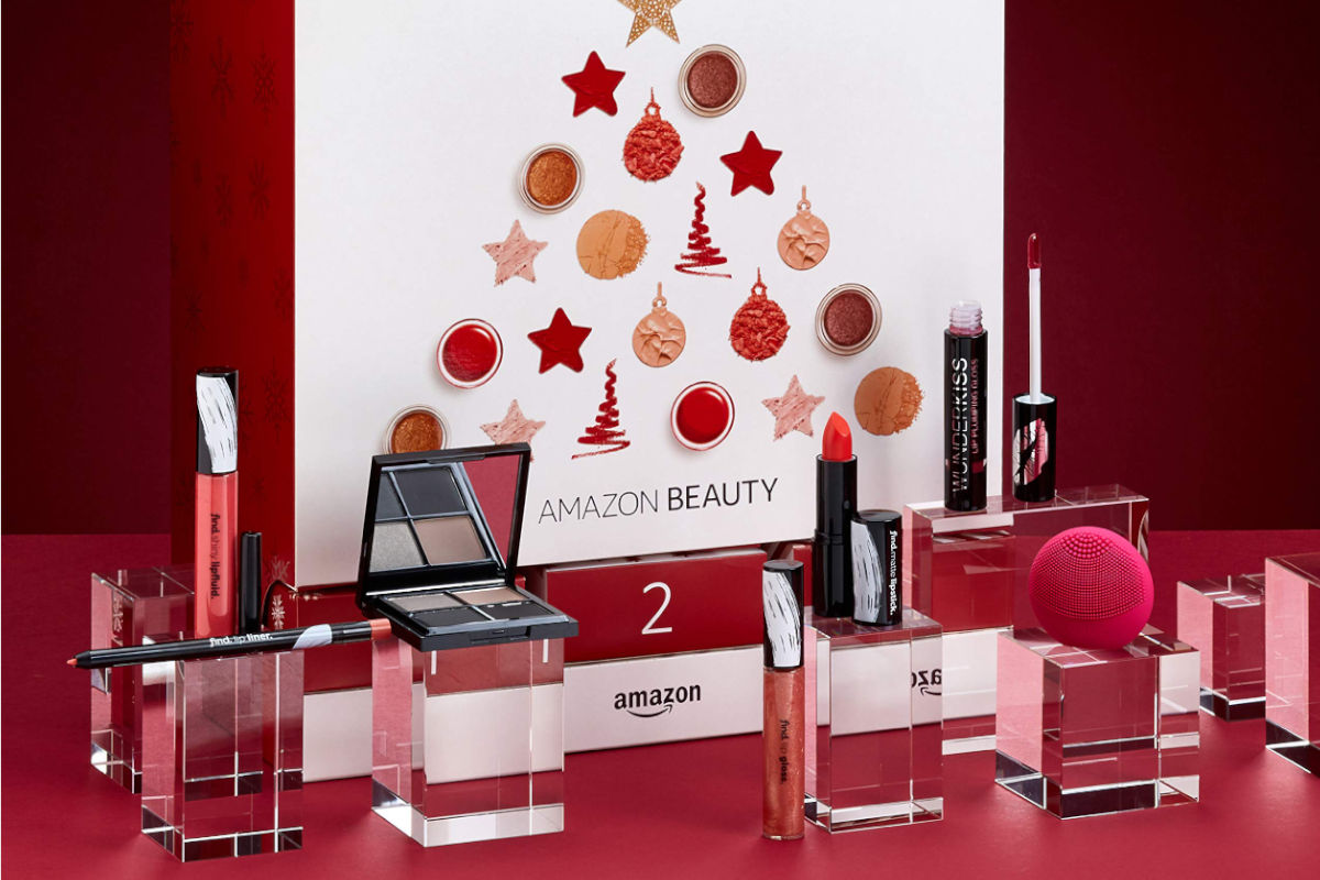 Calendario dell'avvento beauty di Amazon