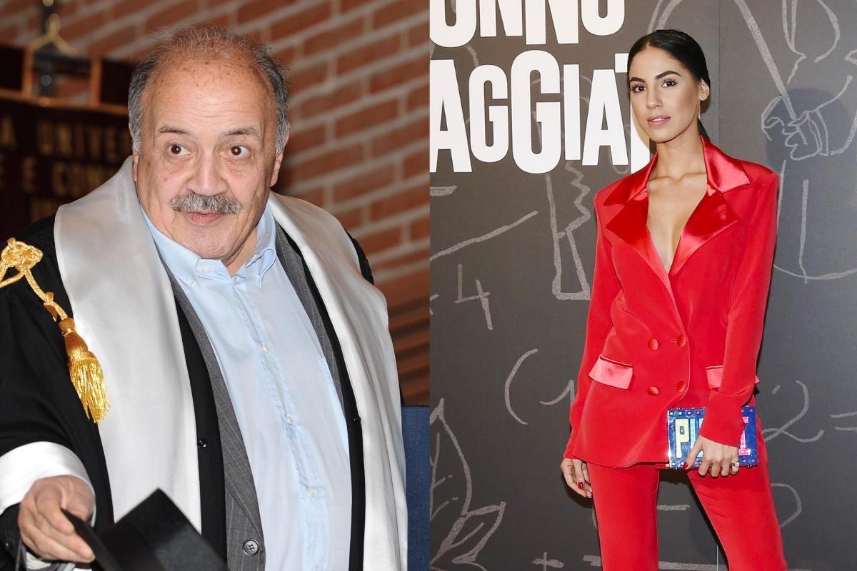 Giulia De Lellis e Maurizio Costanzo
