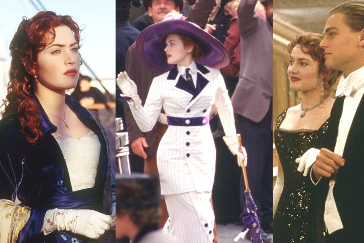 Look di Kate Winslet in Titanic