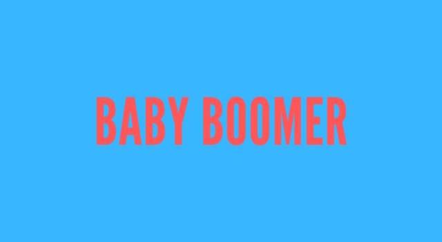 Cosa significa baby boomer?